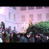 Primera salida procesional de la Virgen del Dulce Nombre (Málaga, 2005).